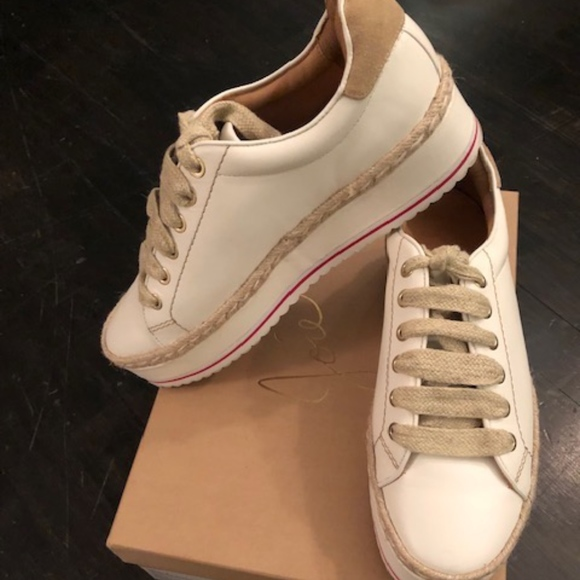 7ed891acdfbd Joie Shoes - Joie Dabnis platform espadrille sneaker size 38